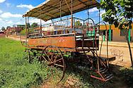 Coche de caballos in Quivican, Mayabeque, Cuba.