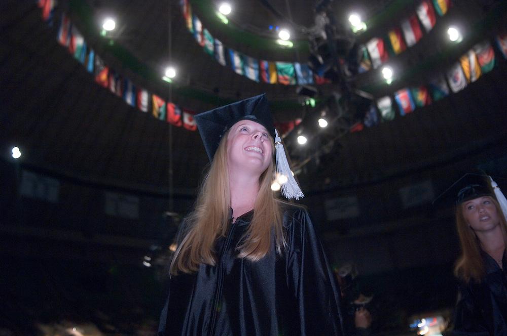 18276Undergraduate Commencement 2007..Kristin Cornell