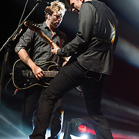Busted in concert at the SSE Hydro, Glasgow, Scotland, Britain, 13th May 2016