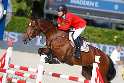 Madden Beezie (USA) - Simon<br /> Furusiyya FEI Nations Cup Jumping Final Round 1<br /> CSIO Barcelona 2013<br /> © Dirk Caremans