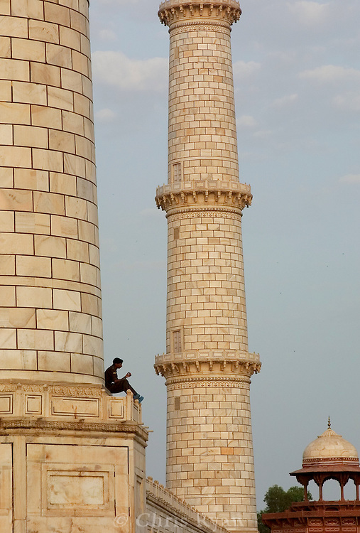 Lunch break, Taj Mahal, India
