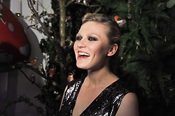 KIRSTEN DUNST at Mulberry's party following their fashion show as part of London Fashion Week Autumn Winter Collection 2011 held at Claridges, Brook Street, London on 20th February 2011.