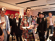 MARK RONSON; NICK RHODES; RUFUS WAINWRIGH; BOY GEORGE; IVAN MASSOW, , Prima Donna opening night. Sadler's Wells Theatre, Rosebery Avenue, London EC1, Premiere of Rufus Wainwright's opera. 13 April 2010