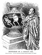 "Meditation on a Grecian Urn. Signor Mussolini. ""Ah, we manage these things better in Rome."""
