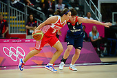 Basketball, Womens - Great Britain vs Russia (Preliminary)