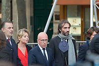 Eric Ciotti _Cédric Villani Obsèques de Jacques Chirac Lundi 30 Septembre 2019 église Saint Sulpice Paris