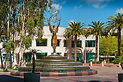 Academy of Television Arts & Sciences, Emmy statue, Sculptures, Sculptural Works, Public Art, Display, North Hollywood, CA