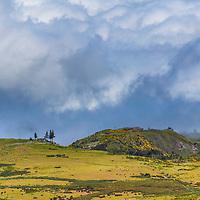 Valle around Pico Arieiro zone in Madeira
