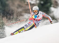 26.01.2020, Streif, Kitzbühel, AUT, FIS Weltcup Ski Alpin, Slalom, Herren, im Bild Linus Strasser (GER) // Linus Strasser of Germany in action during his run in the men's Slalom of FIS Ski Alpine World Cup at the Streif in Kitzbühel, Austria on 2020/01/26. EXPA Pictures © 2020, PhotoCredit: EXPA/ Stefan Adelsberger