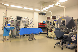 Stock photo of a medical robotics lab