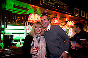 EXCLUSIVE<br /> Dietmar Hamann Liverpool FC former soccer player with  Kellie Maloney, former Frank maloney boxing promoter celebrates, its sixty-second birthday at The Irish Pub in Vilamoura Marina, Portugal.<br /> ©Exclusivepix Media