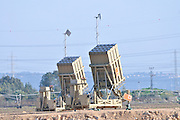 Iron Dome (Hebrew: Kipat Barzel?) is a mobile air defense system developed by Rafael Advanced Defense Systems designed to intercept short-range rockets and artillery shells. This system is located North of Haifa to protect the city from missiles from Lebanon February 2013