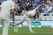 Ben Stokes of England bowling during the 3rd International Test Match 2018 match between England and India at Trent Bridge, West Bridgford, United Kingdon on 18 August 2018.