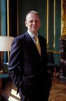 Peter TURNER, lawyer at Freshfields, Paris.<br /> Paris le 27 mars 2003.