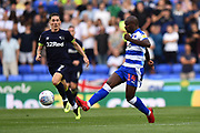 Sone Aluko (14) of Reading during the EFL Sky Bet Championship match between Reading and Derby County at the Madejski Stadium, Reading, England on 3 August 2018. Picture by Graham Hunt.