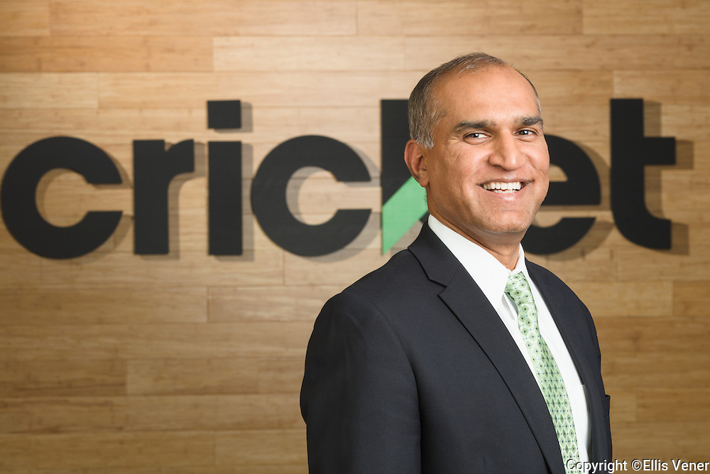 Executive portraits for Cricket Wireless