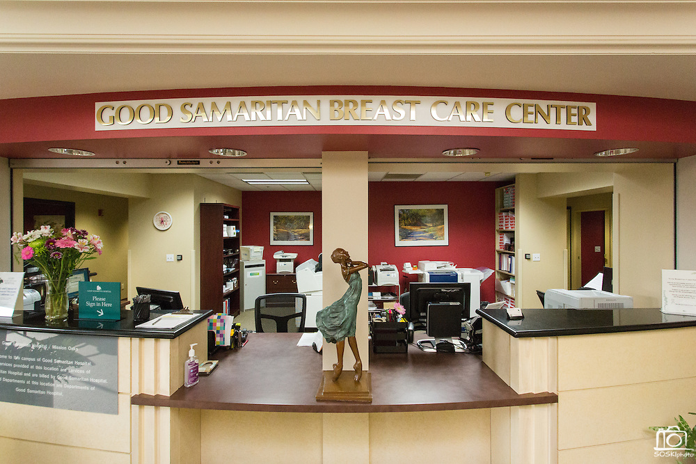 Marketing Campaign of Good Samaritan Hospital, photographed at Good Samaritan Hospital's Breast Care Center in Los Gatos, California, on June 16, 2015. (Stan Olszewski/SOSKIphoto)