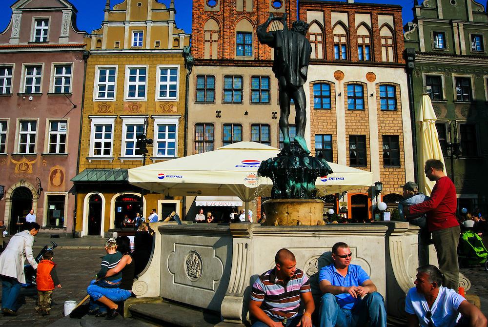 POLAND / POLONIA<br /> Centro de la ciudad de Poznan<br /> Photography by Aaron Sosa<br /> Polonia 2008<br /> (Copyright &copy; Aaron Sosa)