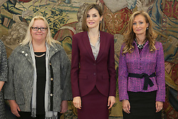 27.10.2015, Zarzuela Palast, Madrid, ESP, Letizia Empfang, im Bild Queen Letizia of Spain receives the Spanish Association of Executive and Councelor Women // during a Royal reception at the Zarzuela Palast in Madrid, Spain on 2015/10/27. EXPA Pictures © 2015, PhotoCredit: EXPA/ Alterphotos/ Victor Blanco<br /> <br /> *****ATTENTION - OUT of ESP, SUI*****
