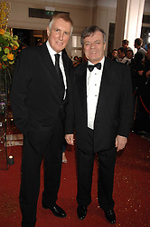 Left to right, Radio presenters JOHNNIE WALKER and TONY BLACKBURN at the Galaxy British Book Awards 2007 - The Nibbies held at the Grosvenor house Hotel, Park Lane, London on 28th March 2007.<br />