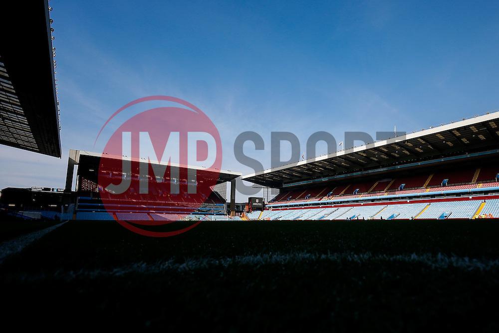 General View inside Villa Park - Mandatory byline: Rogan Thomson/JMP - 13/03/2016 - FOOTBALL - Villa Park Stadium - Birmingham, England - Aston Villa v Tottenham Hotspur - Barclays Premier League.