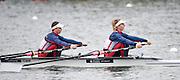 Caversham. Berkshire. UK<br /> GBR LW2X. bow. Charlotte TAYLOR and Kat COPELAND.<br /> 2016 GBRowing European Team Announcement,  <br /> <br /> Wednesday  06/04/2016 <br /> <br /> [Mandatory Credit; Peter SPURRIER/Intersport-images]
