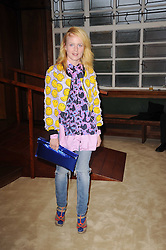 Fashion designer LOUISE GRAY at a screening of a short film directed by Willem Jaspert and Stephen Langmanis to celebrate the launch of Bella Freud and Susie Bick's first design collaboration held at Town Hall, 8 Patriot Square, London E2 on 6th September 2010.