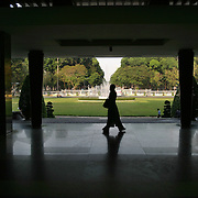 Ho Chi Minh City's Reunification Palace was made famous when North Vietnamese tanks crashed through its gates on April 30, 1975, officially ending the conflict in Vietnam. ....The palace, built in 1966 by architect Ngô Vi?t Th?, has been preserved largely intact as it existed 40 years ago, with oppulant offices and ballrooms upstairs, and a bunker of war rooms in the basement. ....It is also one of the quietest places in the rapidly growing city formerly known as Saigon.