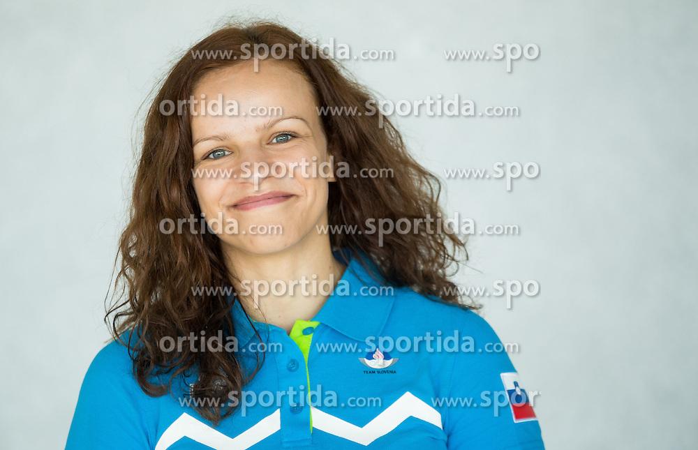 Kristina Vrsic, judo during presentation of Slovenian Team for Baku 2015 European Games,  on June 4, 2015 in Koper, Slovenia. Photo by Vid Ponikvar / Sportida