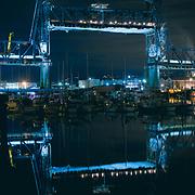 The Murray Morgan Bridge during its years of disuse - Tacoma, WA