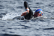 David Aubry (FRA) competes on Men's 10 kms Open Water final during the Swimming European Championships Glasgow 2018, at Tollcross International Swimming Centre, in Glasgow, Great Britain, Day 9, on August 10, 2018 - Photo Stephane Kempinaire / KMSP / ProSportsImages / DPPI