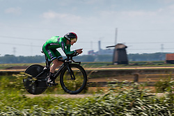 DUNBAR Edward from IRELAND during Men Elite Time Trial at 2019 UEC European Road Championships, Alkmaar, The Netherlands, 8 August 2019. <br /> <br /> Photo by Pim Nijland / PelotonPhotos.com <br /> <br /> All photos usage must carry mandatory copyright credit (Peloton Photos | Pim Nijland)