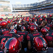 03 September 2016: The San Diego State Aztecs football team open's up the season at home against the University of New Hampshire Wildcats. www.sdsuaztecphotos.com