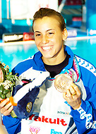 Cagnotto Tania ITA<br /> Melbourne 2007<br /> <br /> photo: Deepbluemedia.eu<br /> <br /> Swimming, Diving, Synchronised Swimming, Open Water Swimming