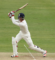 Durham's Keaton Jennings on his way to fifty - Photo mandatory by-line: Robbie Stephenson/JMP - Mobile: 07966 386802 - 03/05/2015 - SPORT - Football - London - Lords  - Middlesex CCC v Durham CCC - County Championship Division One