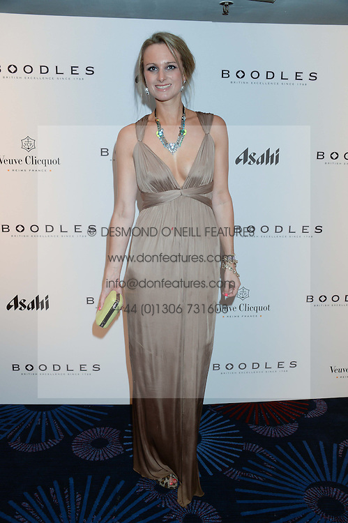 British fine jewellery brand Boodles welcomed guests for the 2013 Boodles Boxing Ball in aid of Starlight Children's Foundation held at the Grosvenor House Hotel, Park Lane, London on 21st September 2013.<br /> Picture Shows:-BRIONY DANIELS<br /> <br /> Press release - https://www.dropbox.com/s/a3pygc5img14bxk/BBB_2013_press_release.pdf<br /> <br /> For Quotes  on the event call James Amos on 07747 615 003 or email jamesamos@boodles.com. For all other press enquiries please contact luciaroberts@boodles.com (0788 038 3003)
