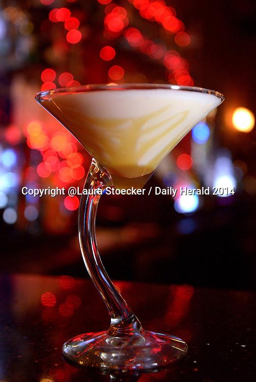 Laura Stoecker/lstoecker@dailyherald.com<br /> Cinnamon Roll martini at the Martini Room in Elgin.