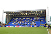 General view of Prenton Park before the game kicks off during the Vanarama National League match between Tranmere Rovers and Southport at Prenton Park, Birkenhead, England on 6 February 2016. Photo by Mark P Doherty.