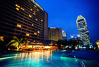 Swimming pool of the Oriental Hotel, Singapore