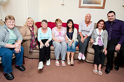 TV and Stage star Roxanne Pallett Joins Sheffield based Broadband Company Plusnet on a visit to Rydale Lodge Younger People Alzheimers Society Day Centre at Lane end Chapeltown to mark the handover of £5252 to Plusnets 2010-2011 charity.28th September2011 Image © Paul David Drabble