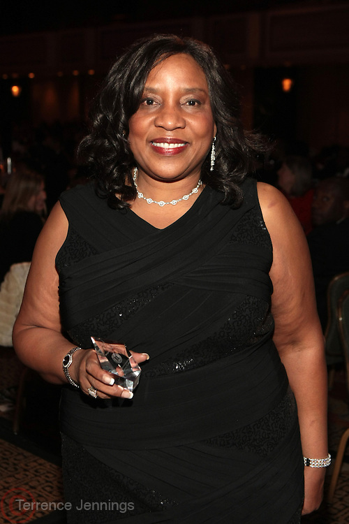 New York, NY- FEBRUARY 23:  Honoree Michelle Y. Lee at the One Hundred Black Men  32nd Annual Benefit Gala: A Commitment to Excellence held at the New York Hilton Grand Ballroom on February 23, 2012 in New York City. Photo Credit: Terrence Jennings
