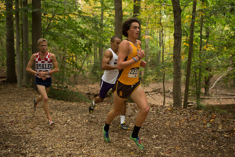 Rowan University Jonathan Sewnig - Collegiate Track Conference  Cross-Country Men's Championship at Gloucester County College in Sewell, NJ on Saturday October 19, 2013. (photo / Mat Boyle)