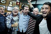 20190321/ Javier Calvelo - adhocFOTOS/ URUGUAY/ MONTEVIDEO/ sede AUF / Elecciones de presidente en la Asociacion Uruguaya de Futbol. Ignacio Alonso es el nuevo presidente de la AUF<br /> En la foto:  Ignacio Alonso tras las elecciones de presidente en la Asociaci&oacute;n Uruguaya de F&uacute;tbol. Foto: Javier Calvelo /  adhocFOTOS