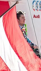 18.12.2016, Grand Risa, La Villa, ITA, FIS Ski Weltcup, Alta Badia, Riesenslalom, Herren, Siegerpräsentation, im Bild Marcel Hirscher (AUT, 1. Platz) // race winner Marcel Hirscher of Austria during the winner presentation for the men's Giant Slalom of FIS ski alpine world cup at the Grand Risa race Course in La Villa, Italy on 2016/12/18. EXPA Pictures © 2016, PhotoCredit: EXPA/ Johann Groder