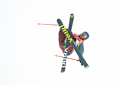 February 18, 2018 - Pyeongchang, South Korea - NICK GOEPPER of the United States competes in the Mens Ski Slopestyle competition Sunday, February 18, 2018 at Phoenix Snow Park at the Pyeongchang Winter Olympic Games.  Photo by Mark Reis, ZUMA Press/The Gazette (Credit Image: © Mark Reis via ZUMA Wire)