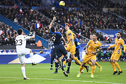 November 14, 2019, Saint Denis, FRANCE: 09 OLIVIER GIROUD (FRA) - 03 Igor Armas  (Credit Image: © Panoramic via ZUMA Press)