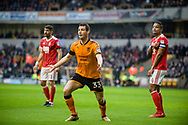Leo Bonatini of Wolverhampton Wanderers in action during the EFL Sky Bet Championship match between Wolverhampton Wanderers and Nottingham Forest at Molineux, Wolverhampton, England on 20 January 2018. Photo by Darren Musgrove.