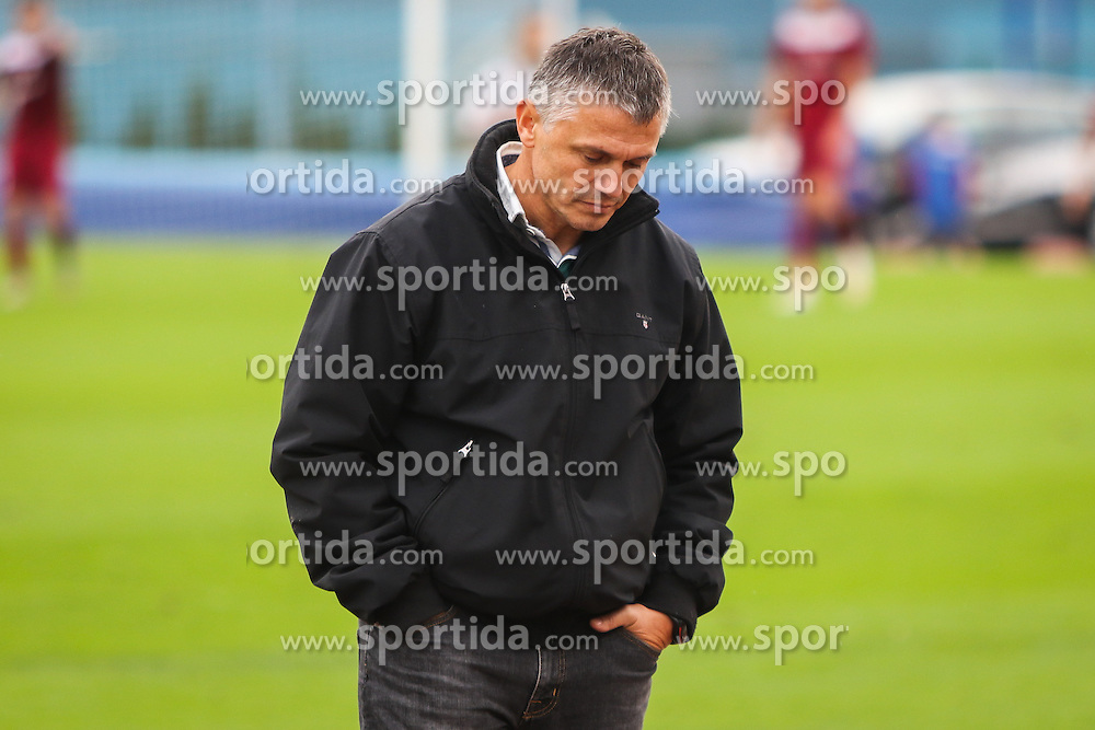 Florjancic Matjaz, headcoach of Nk Kranj during football match between NK Triglav Kranj and NK Kranj  in 10th Round of 2. SNL, on October 11, 2015 in Sports center Kranj,Kranj, Slovenia. Photo by Ziga Zupan / Sportida