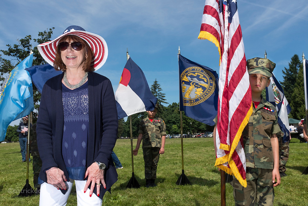 Memorial Day, Fort Vancouver WA