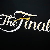 08 June 2016: Close view of the NBA Finals logo in the rafters during the Cleveland Cavaliers 120-90 victory over the Golden State Warriors, during Game Three of the 2016 NBA Finals at the Quicken Loans Arena, Cleveland, Ohio, USA.